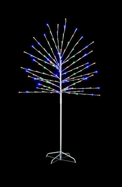 Premier 150 LED Tree With Timer - Multi 1.5m
